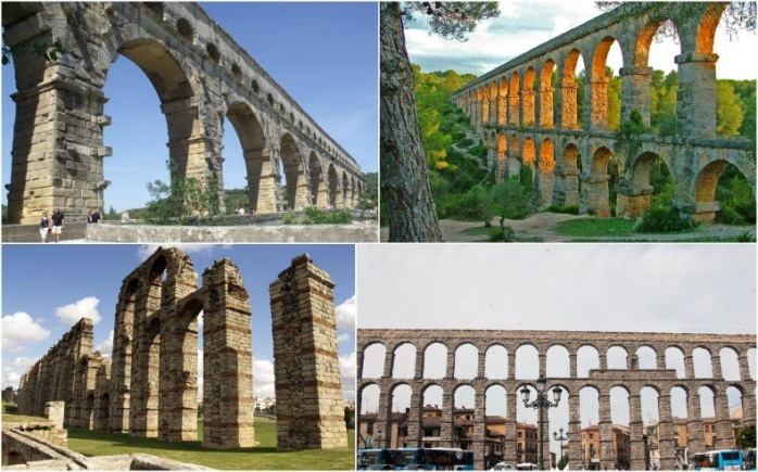 Rome's first aqueduct Put a wedge in it blogs