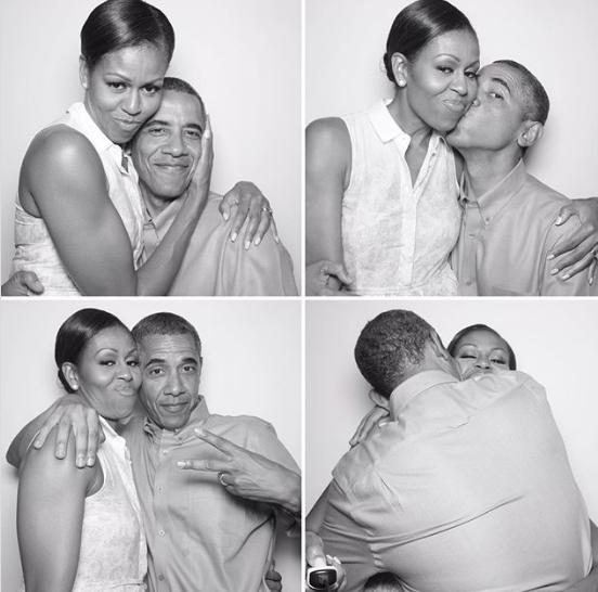 See Michelle Obama's birthday tribute to her 'favorite guy,' husbandBarack